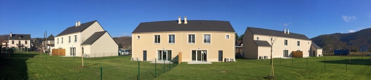 Bureau d'études DEJANTE - Économie de la construction - Construction de 6 maisons individuelles
