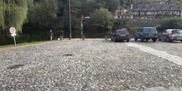 Quai sur la Dordogne - Avant Travaux (10 octobre 2017)