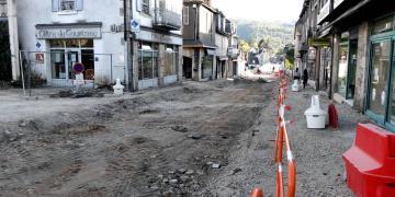 Avenue Henri IV - Fin des travaux des réseaux secs et humides (17 octobre 2017)
