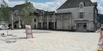 Place Da Maïa - Fin du pavage (22 mai 2018)