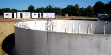 Bâche d'eau traitée de 1500 m3 (13/07/18)