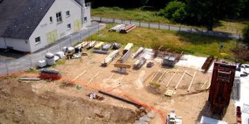 Photographie du chantier (13/07/18)