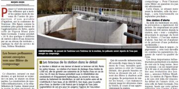 Article du journal LA MONTAGNE du 07/03/2019