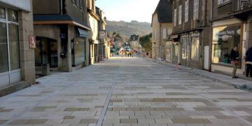 Avenue Henri IV - Pose du pavage en granite (5 décembre 2017)