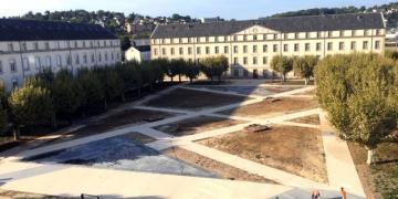 12 octobre 2018 : Vue d'ensemble de la Place d'Armes
