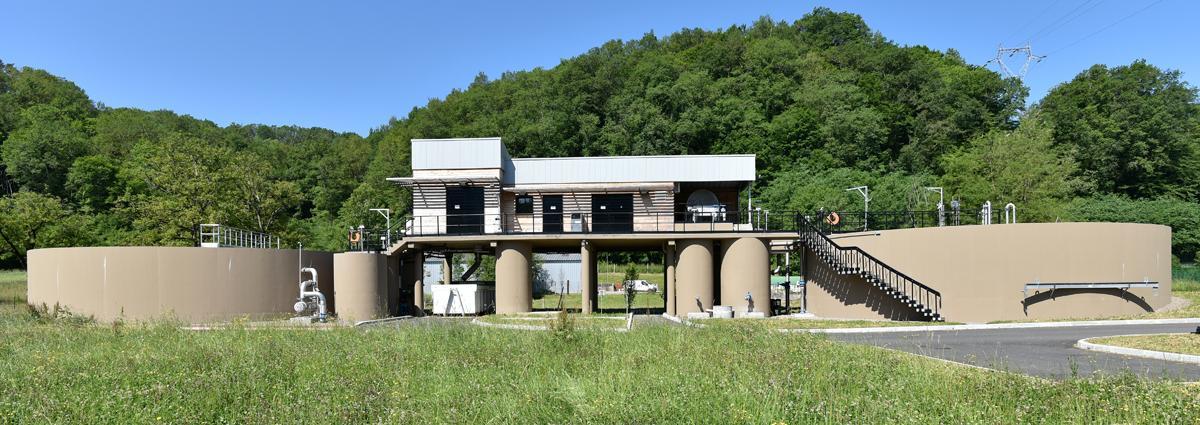 Groupe Dejante - Eau et environnement - Station d'épuration Beaulieu-sur-Dordogne(CORRÈZE 19))