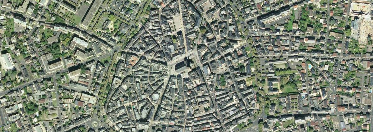 Groupe Dejante - Urbanisme Brive vue du ciel